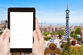 stock photo of gaudi barcelona  - travel concept  - JPG