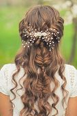 pic of braids  - Girl with beautiful  braid hairstyle - JPG