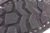 picture of soles  - Black shoe sole close up - JPG