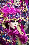 image of venice carnival  - Carnival of Venice beautiful masks at St - JPG