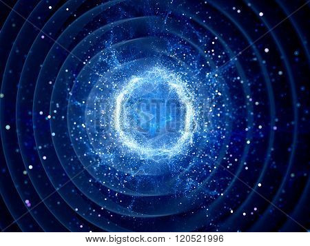 Gravitaional Wave Burst By Strong