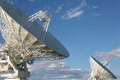 Radio telescope facility, Australia.