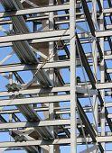 Marco de acero estructural