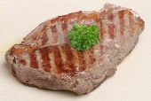 Juicy sirloin steak