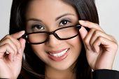 Постер, плакат: Азиатские женщины носить очки