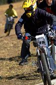 Chase On Mountain Bike Race