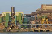Scrap Metal Processing Factory
