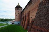 Walls of the ancient Kremlin