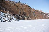 Old Railroad Bridge Near Lake Baikal