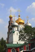 stock photo of zar  - The Novodevichy Convent in Moscow Russia Federation - JPG