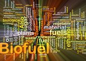 stock photo of ethanol  - Background concept illustration of biofuel renewable fuel glowing light - JPG