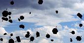 pic of graduation cap  - graduation  - JPG