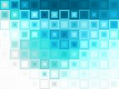 Abstract Blue Ice Cubes Background