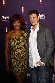 SAN DIEGO - JUL 23: Alicia Fox; Cody Rhodes at the SyFy/E! Comic-Con Party at Hotel Solamar in San D
