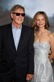 SAN DIEGO - JUL 23:  Harrison Ford; Calista Flockhart arriving at the