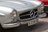 MADRID - JULY 3: Reunion Of Old Classic Cars