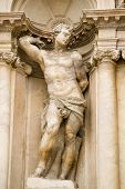 picture of loin cloth  - Statue of a male nude representing a human virtue - JPG