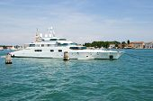 Enigma super yacht in Venice