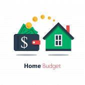 Mortgage Loan, Household Expenses, Real Estate Investment, House Rental, Property Purchase poster
