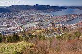 Overview over Bergen