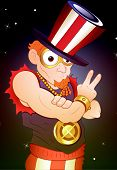 Portrait of Modern Uncle Sam