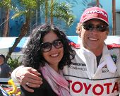 LOS ANGELES - APR 14:  William Fichtner, wife, friends at the 2012 Toyota Pro/Celeb Race at Long Bea