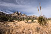 Organ Mountains Desert Peaks National Monument, New Mexico. Dramatic Views Of The Organ Mountains Fr poster