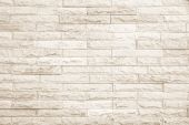 Cream And White Wall Texture Background. poster