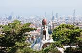Spice-cake house in Park Guell by Antoni Gaudi Barcelona Spain