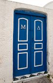 Blue Closed Door