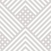 Vector Geometric Lines Seamless Pattern. Subtle Modern Texture With Squares, Rhombuses, Stripes, Che poster