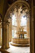 interior of Santa Maria da Vitoria Monastery, Batalha, Estremadura, Portugal