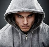stock photo of gangster  - Close - JPG
