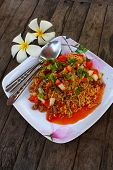 Fired Instant Noodle In Spicy Salad poster