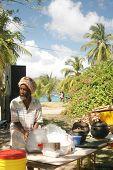 Rasta Man Cooking