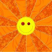 Fabric Sun