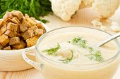 Soup Cream Of Cauliflower