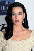 LOS ANGELES - FEB 9:  Katy Perry arrives at the Clive Davis 2013 Pre-GRAMMY Gala at the Beverly Hilt