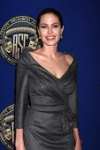 LOS ANGELES - 10 de FEB: Angelina Jolie en el 2013 American Society of Cinematographers premiado en la