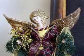 Weihnachten-Engel-statue