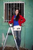 LOS ANGELES - FEB 9:  Theresa Castillo at the 4th General Hospital Habitat for Humanity Fan Build Da