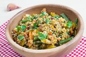Stir-fry With Vegetables And Quinoa