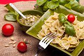 Pasta con salsa de Pesto