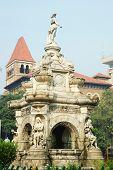 Famous Landmark Of Mumbai (bombay) - Flora Fountain On Famous Piazza, Maharashtra, India, Asia
