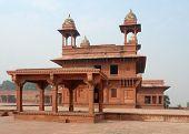 picture of khas  - Architectural detail around Fatehpur Sikri a city in Uttar Pradesh India - JPG