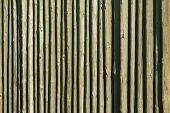 Wooden Log Pallisade Background Pattern