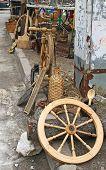 Sale Of Vintage Crafts Of Folk Household