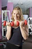 Fitness Girl Smiling