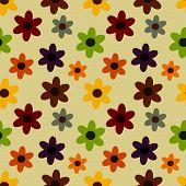 Flower Seamles Pattern