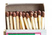 Matches In Cardboard Matchbox
